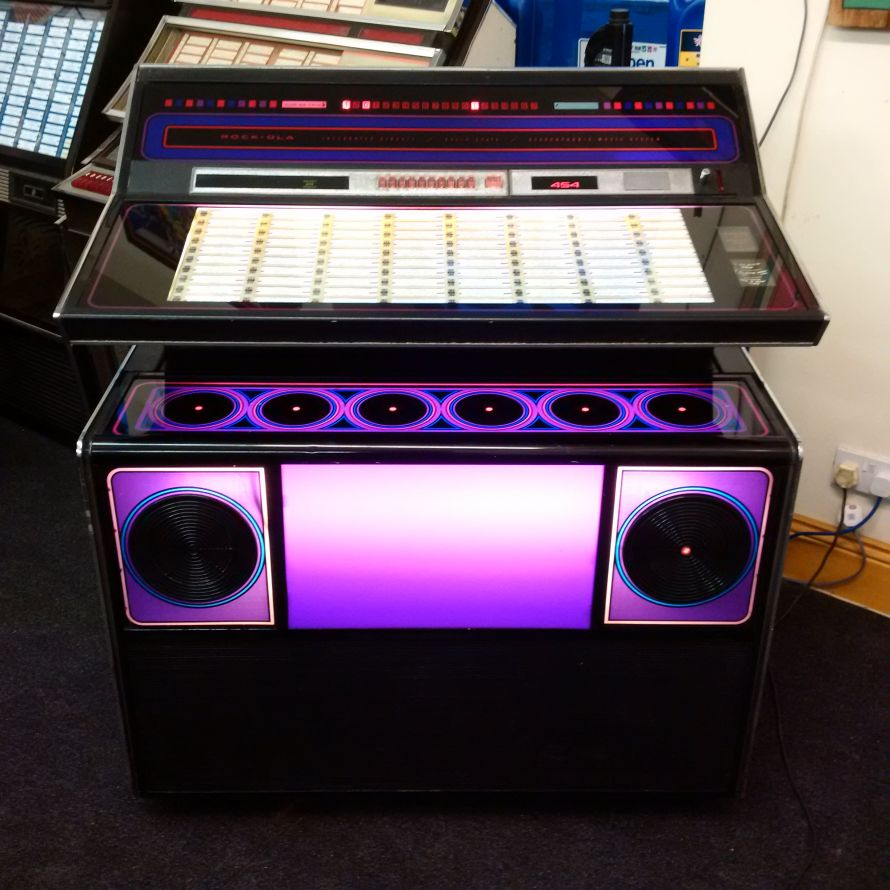 Just Jukin Jukeboxes 1974 Rock Ola 454