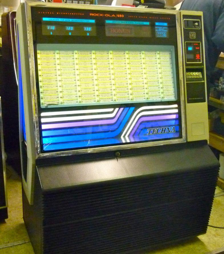 1980 Rockola Techna 480