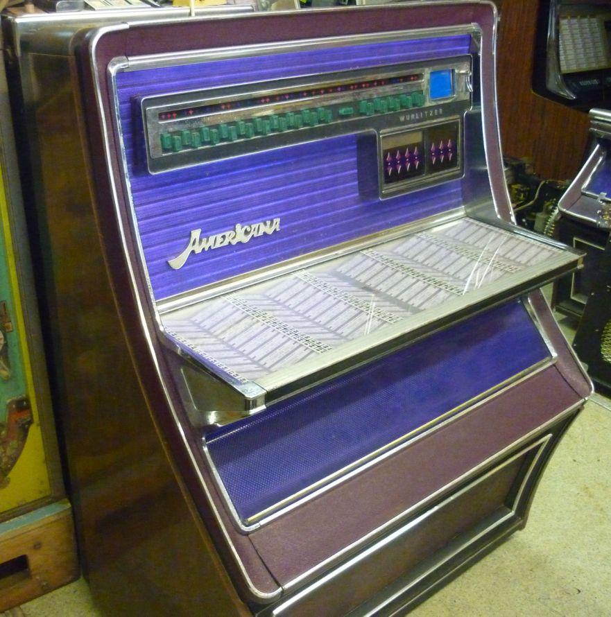 Just Jukin Jukeboxes 1974 Wurlitzer Americana