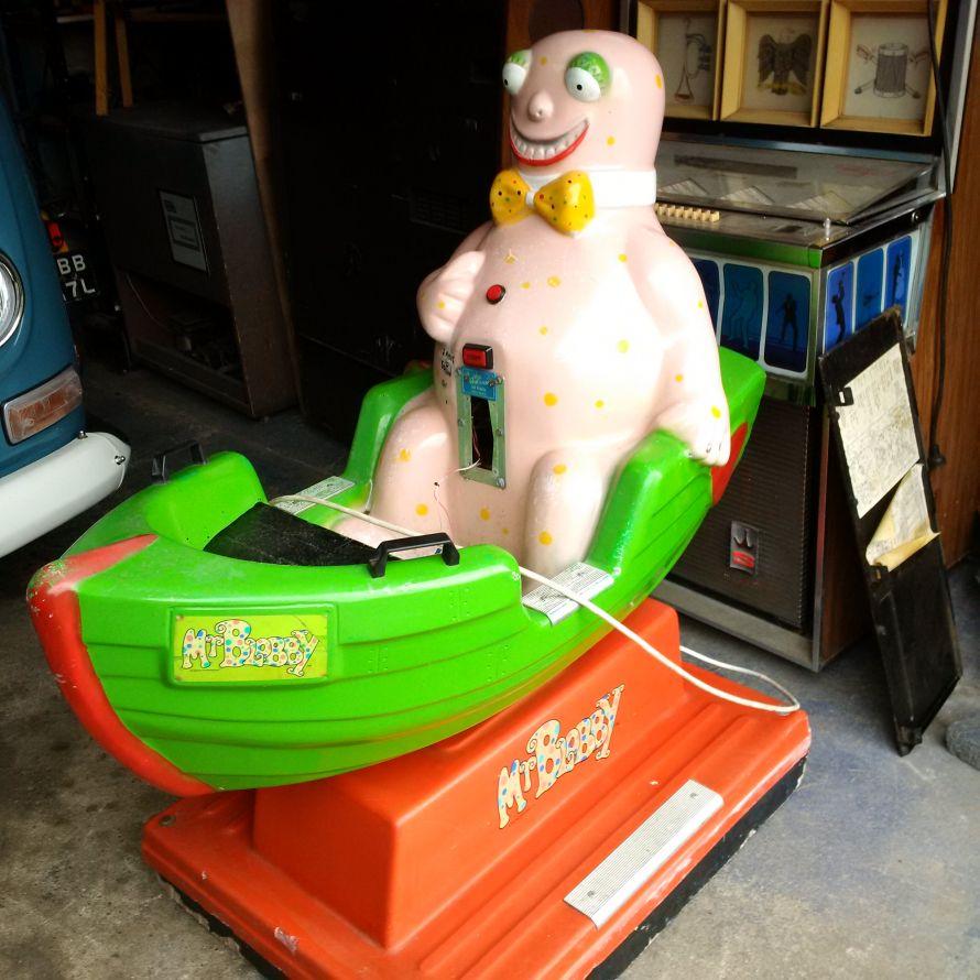 Mr. Blobby Children's ride