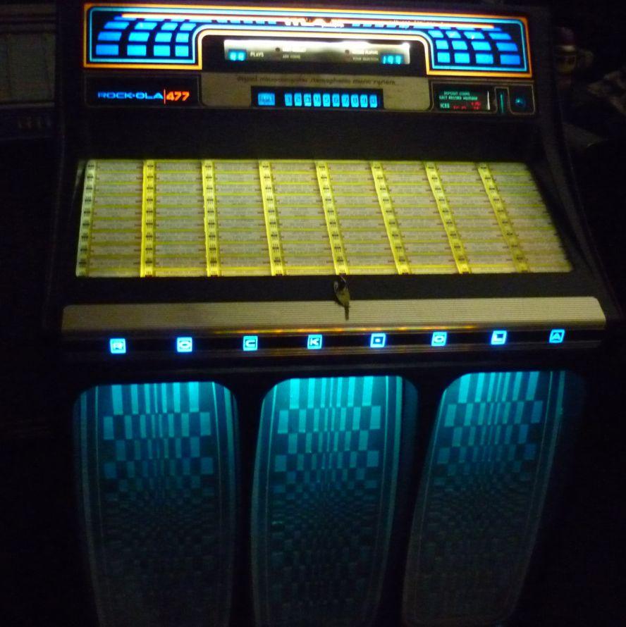 Just Jukin Jukeboxes 1979 Rock Ola Max 477