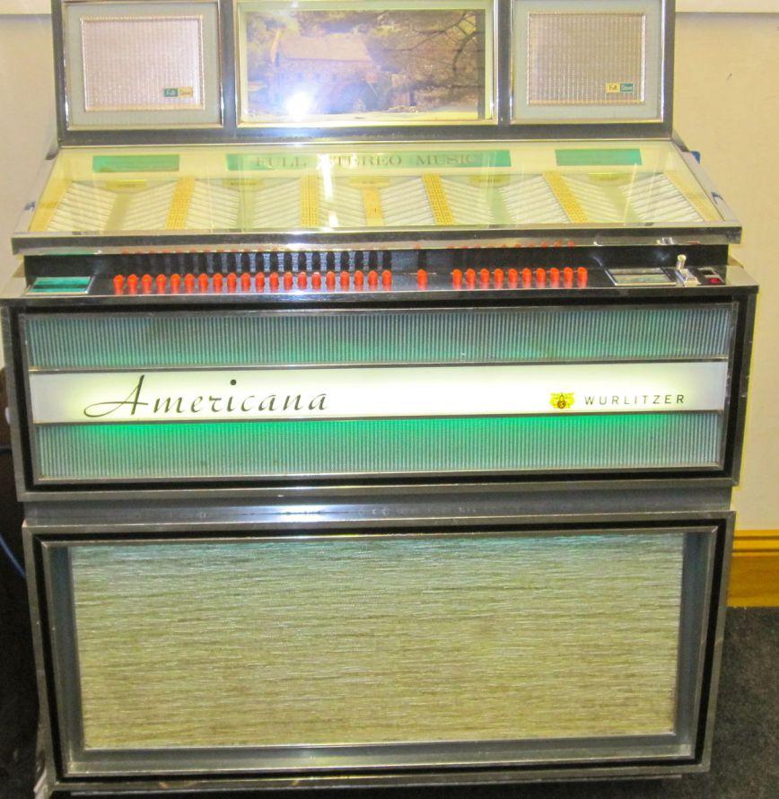 1967 Wurlitzer Americana 3100