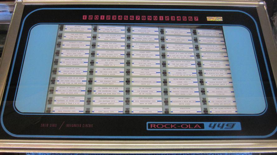 Just Jukin Jukeboxes 1972 Rock Ola 449