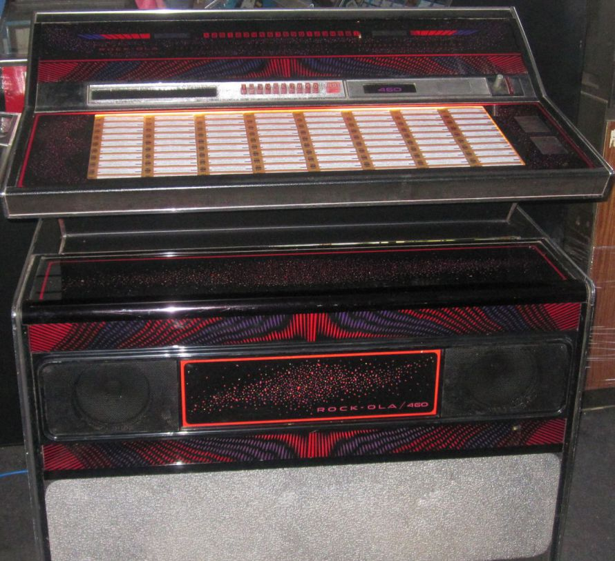 Just Jukin Jukeboxes 1975 Rock Ola 460