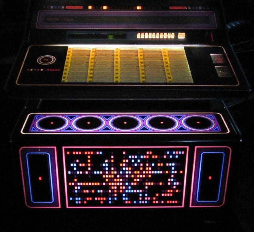 1974 Rock-Ola 453 Star trek