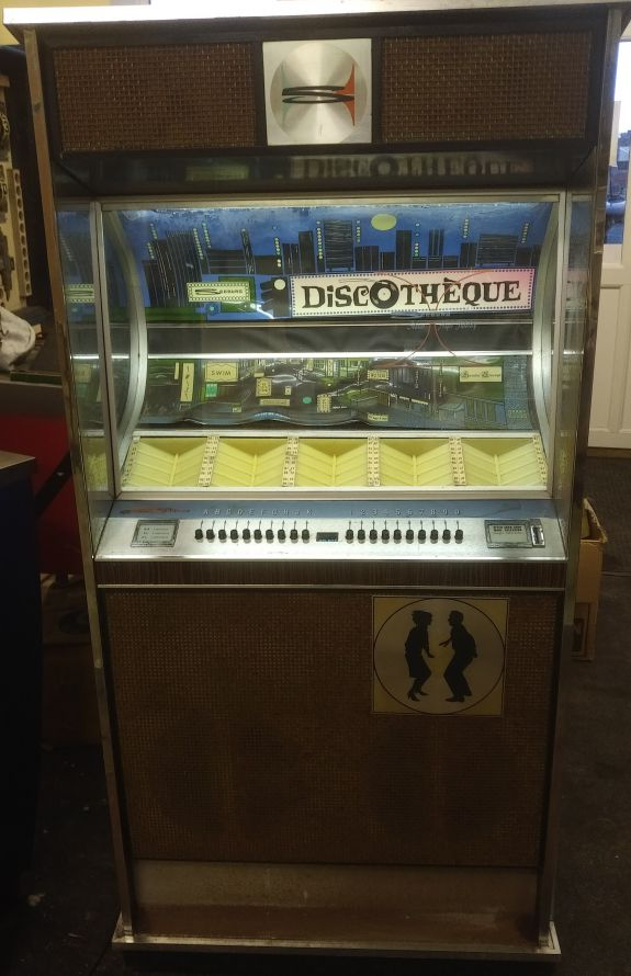 1965 Seeburg Discotheque U100D Project