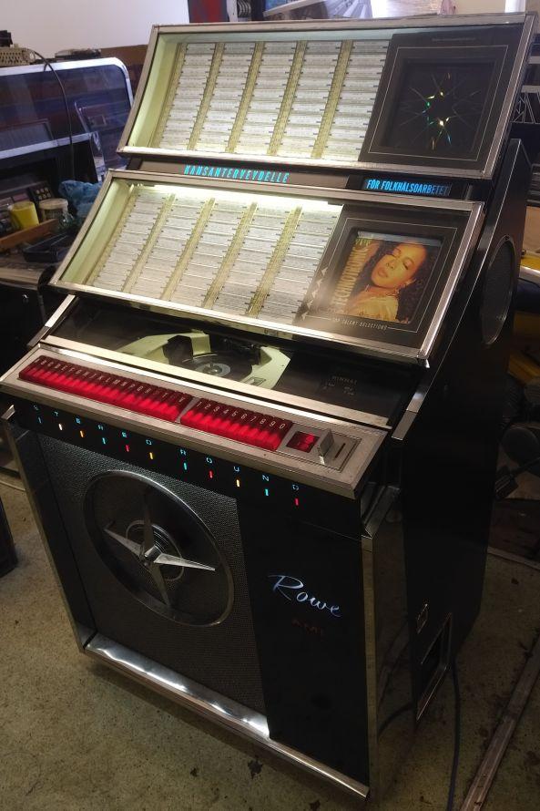 Just Jukin Jukeboxes 1962 Rowe Ami Jal 200