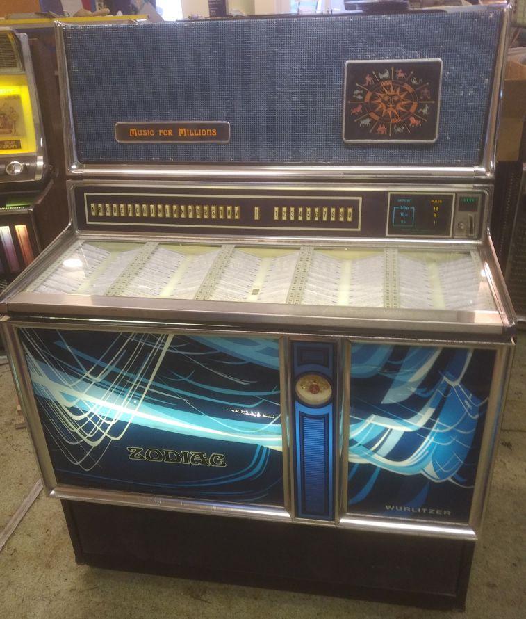 1971 3500 Wurlitzer Zodiac