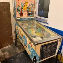 1968 Dixieland Pinball machine project.