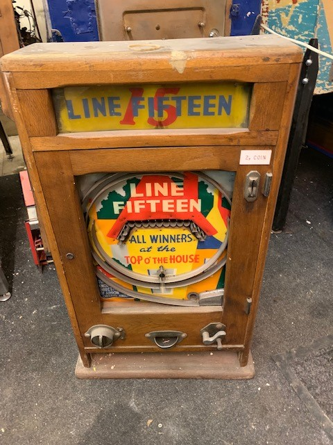 Vintage Line Fifteen wall game