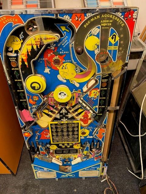 Pacman Pinball Playfield