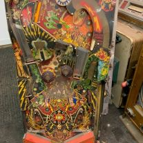 Classic Flash Gordon Pinball Playfield