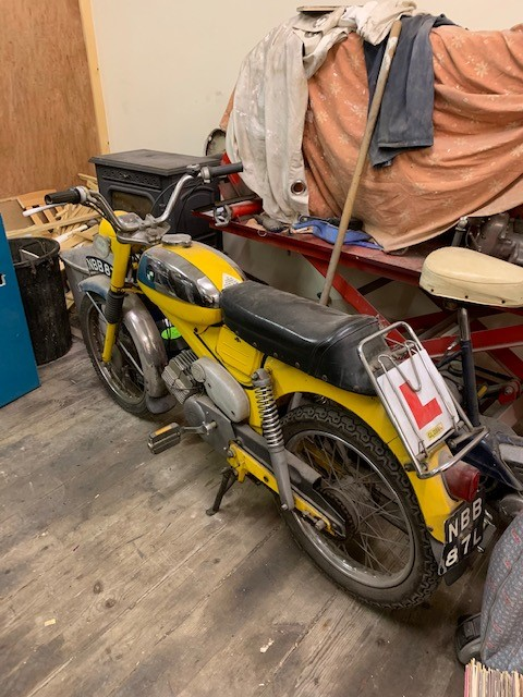 1973 Puch VZ 50 Moped Project