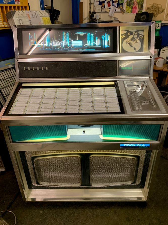 1967 Rock-Ola Ultra Visual display